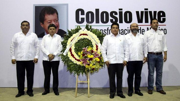 PRI Yucatán conmemora 21 Aniversario Luctuoso de Luis Donaldo Colosio