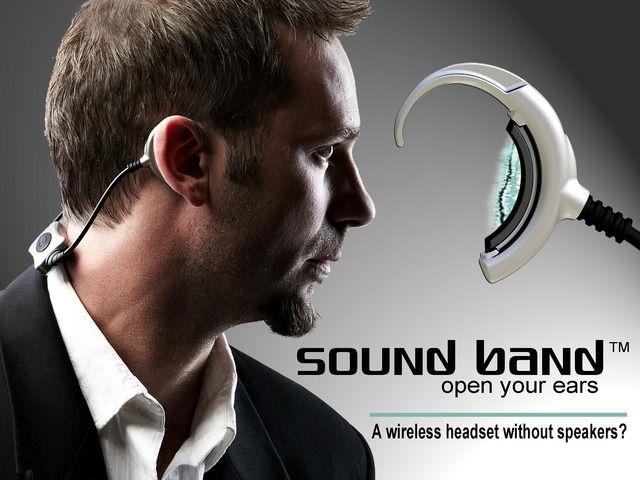 Sound Band - Finally, a headset without speakers! by Hybra Advance Technology, Inc. — Kickstarter