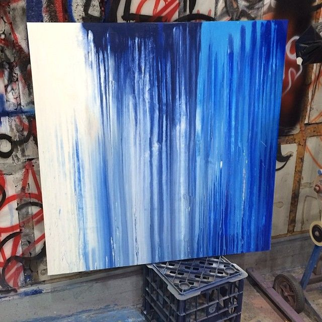 Here's the base coat for a new painting.. #fineart #paint #drip #graffiti #illurstrationdesign #akcartooning