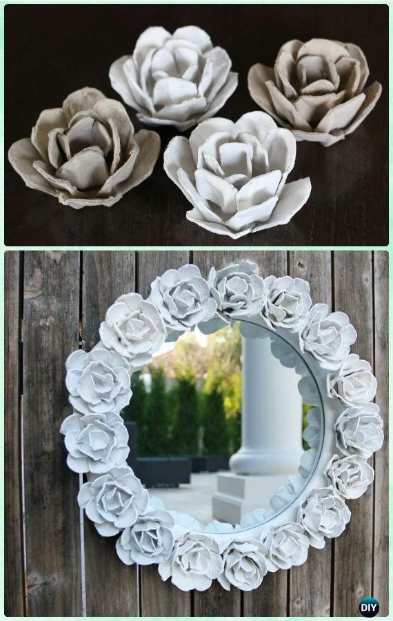 Mirror Frame Decoration Diy