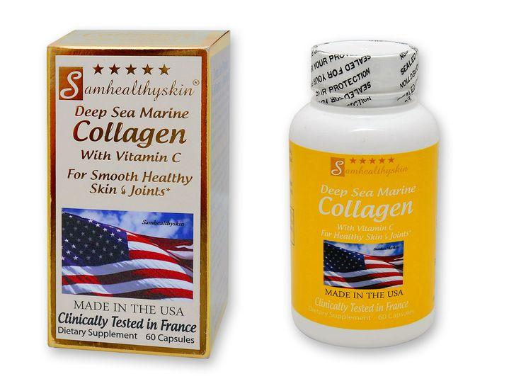 Deep sea marine collagen capsules 60 capsules marine