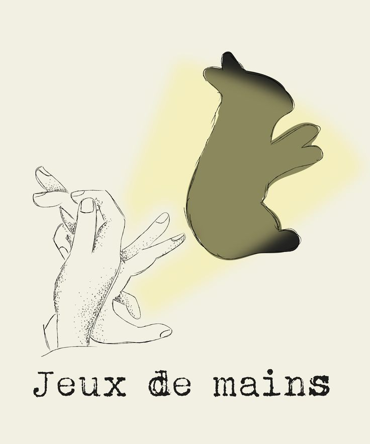 Jeux de Main  By Popink Illustration