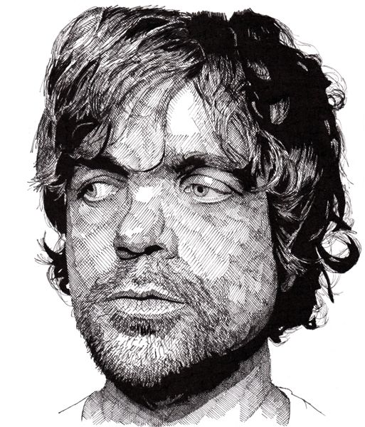 Using just pen paper artist creates wonderful black and white portraits