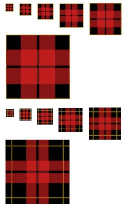 Scots Plaid GIMP Patterns .pat by 1389AD.deviantart.com on @DeviantArt