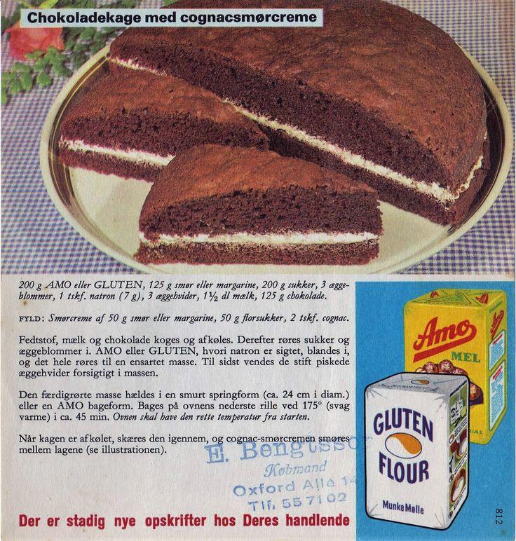 Chokoladekage m cognacsmørcreme nr 812