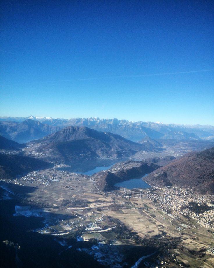 Lago di Levico. Lago di Caldonazzo.