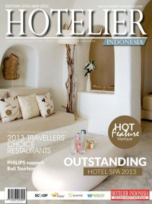 Hotelier Indonesia Edition - 15 digital magazine - Read the digital edition by Magzter on your iPad, iPhone, Android, Tablet Devices, Windows 8, PC, Mac and the Web.