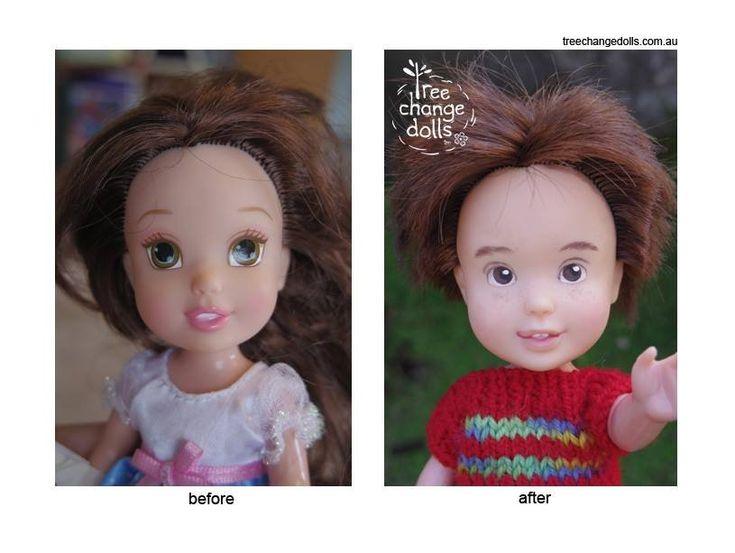 Zdjęcie numer 12 w galerii - Z wampa w dziewczynkę. Dlaczego Sonia Singh przerabia lalki Barbie?
