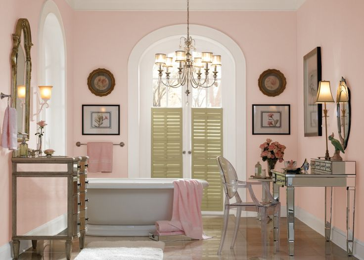 Colorfully, BEHR :: Color of the Month: Cupcake Pink