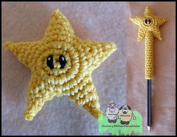 Patrón Estrella Mario Bros