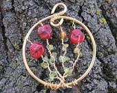 Garden Flowers Pendant