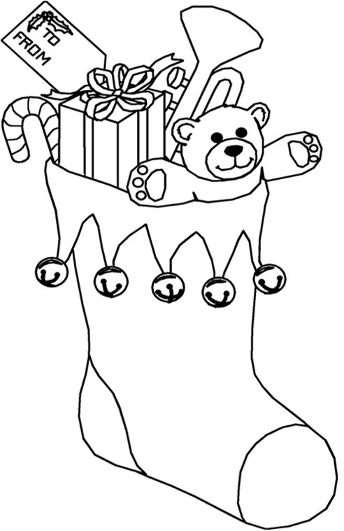 free christmas coloring pages for kids 2 - Preschool Colouring Worksheets