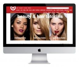 SPRING CREATIVE – TARGET For Target's spring 2013 beauty campaign, Spring Creative produced a series of beauty tutorials which were applied to Target's website and to their Youtube channel. M Lithvall created all typography that went in to the tutorials and assisted on the whole campaign.
