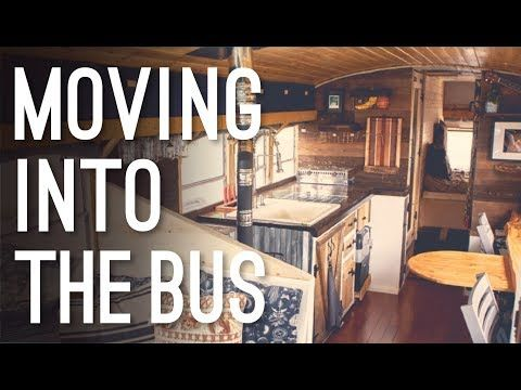 Moving Into Our Bus Conversion | Emotional Toll of Going