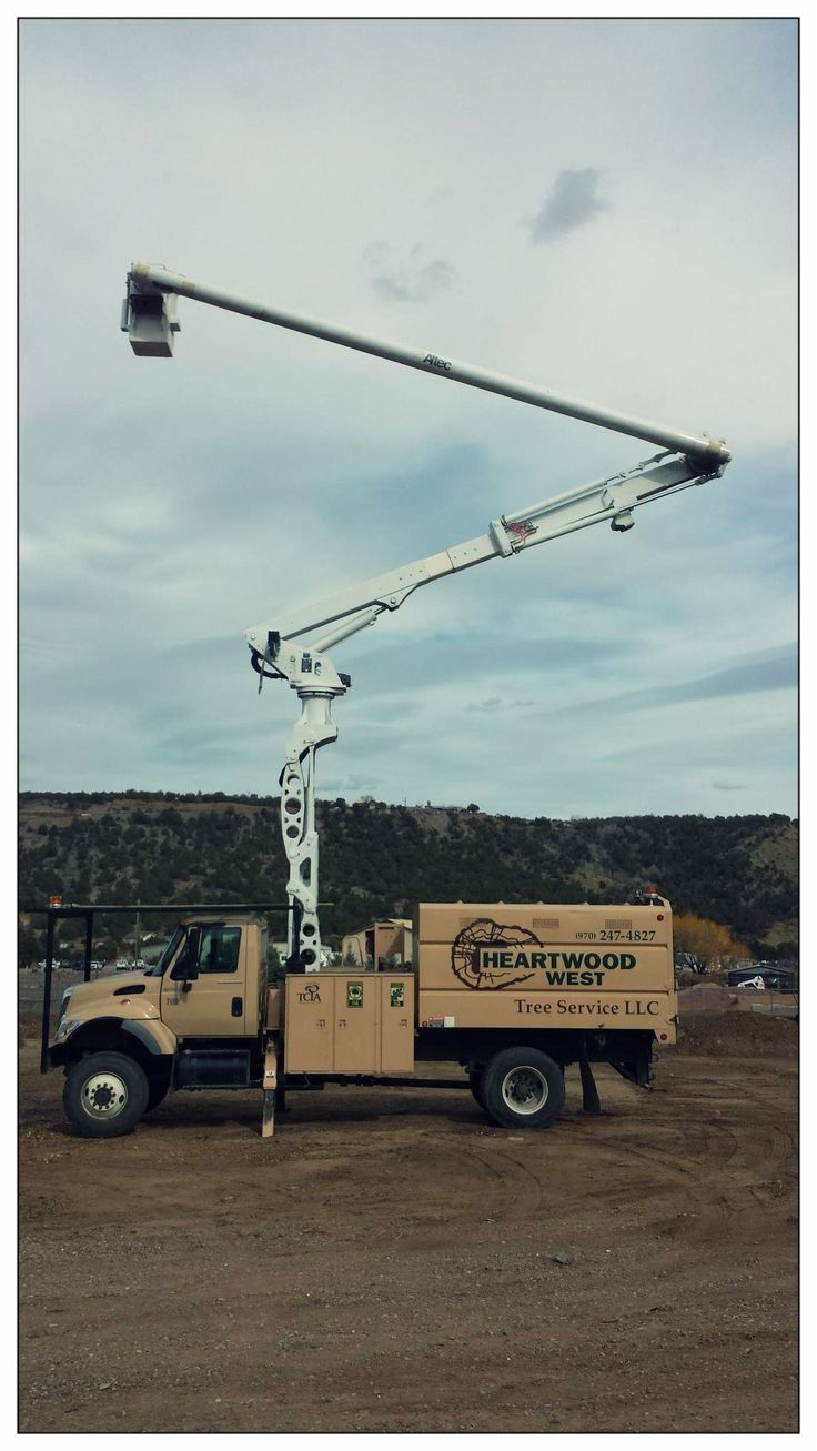 New box truck heartwood manufacturing - Shout Out To Heartwood West Tree Service In Durango Co Their Lrv60 E70