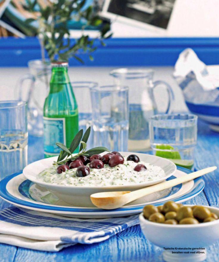 Kreta - Tzaziki recept