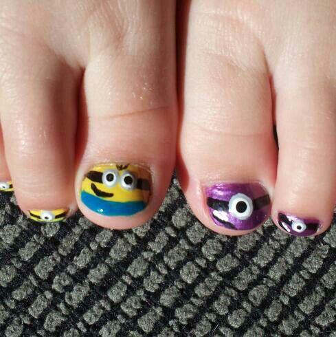 despicable me unicorn nails - photo #9