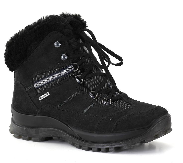 Romika's Alaska 10 is a fashionable boot with water and wind protection. It's washable too!