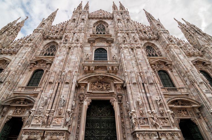 Duomo, Milan Italy - The Duomo or Milan Cathedral in Milan Italy