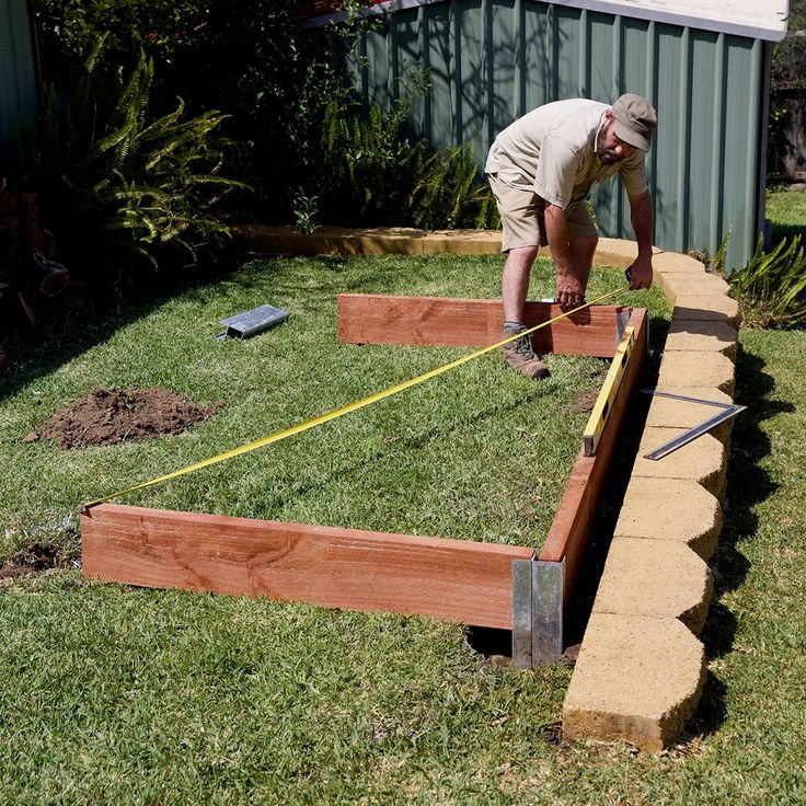 How to build a simple raised garden bed Bunnings