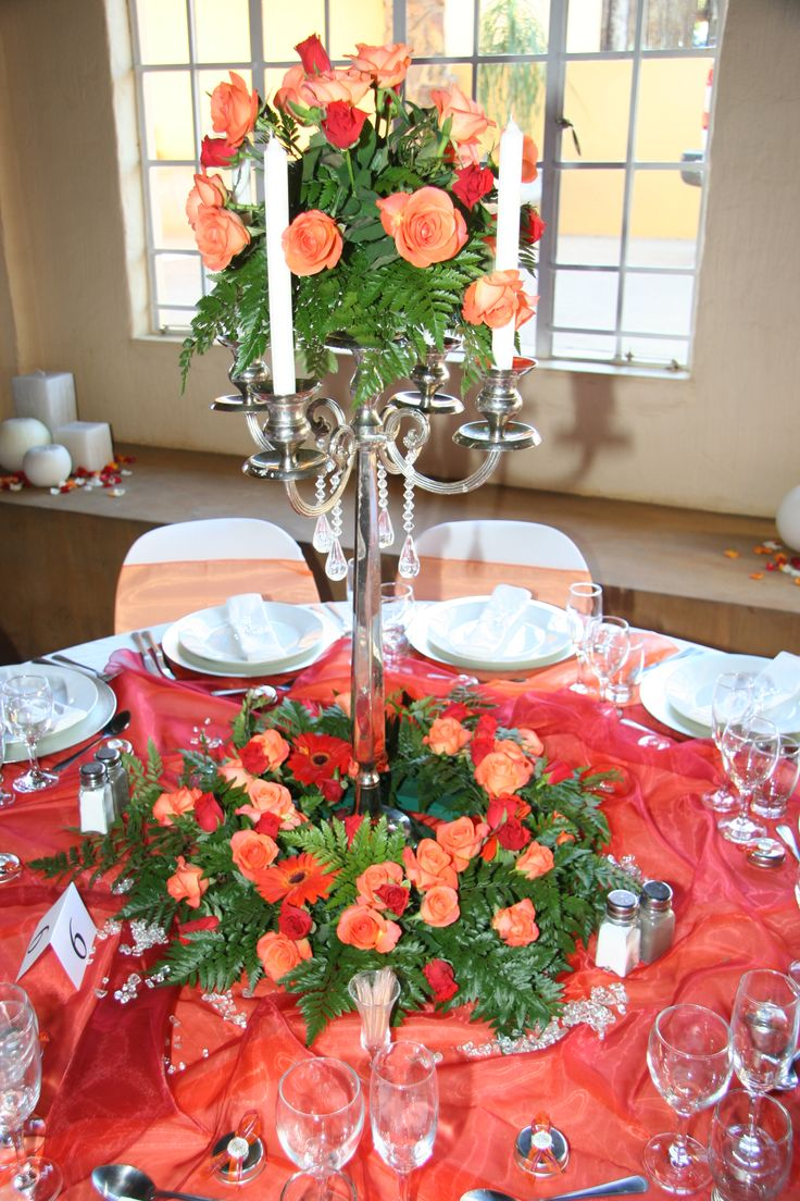 Beautiful #Decoration done in #Orange wwwthabatshwene.co.za.
