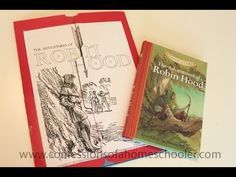 The Adventures of Robin Hood Lapbook Video Tutorial
