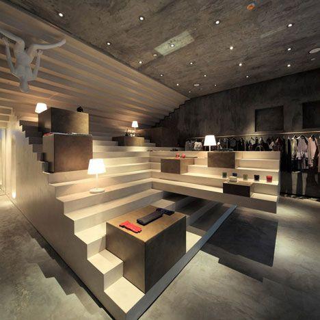 Google Image Result for http://static.dezeen.com/uploads/2011/07/dezeen_Alter-Store-by-3Gatti_03.jpg: Interior Design, Idea, Alter Store, Retail Design, Store Design, Fashion Stores, Concept Stores
