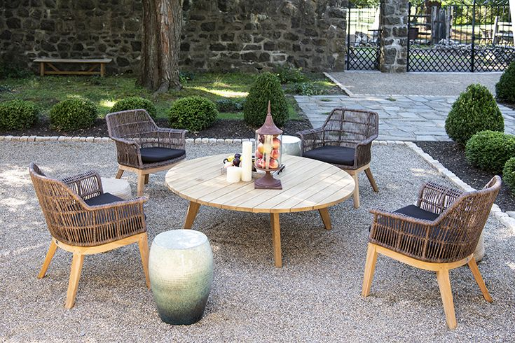 Essential Round Dining Table Coffee Table Two Sets Of Leg