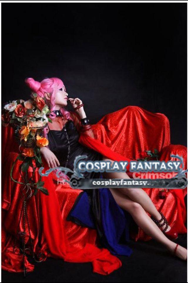 Adult Chibiusa Wicked Lady Dark Lady Cosplay Costume