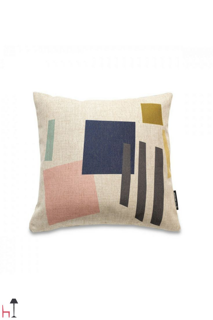 With the Zazazoo cushion by Fest Amsterdam your home will be filled with colours and unexpected patterns!