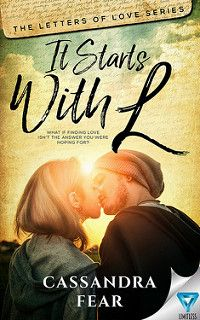 Cover Reveal: It Starts With L by Cassandra Fear