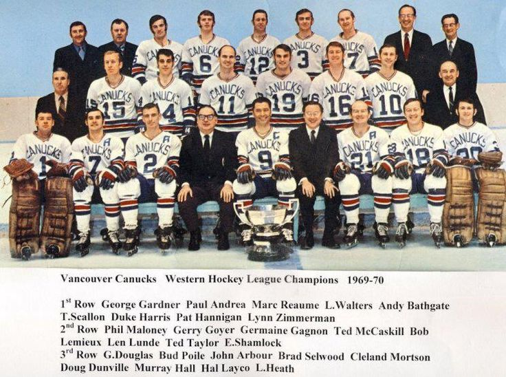1969-70 Western Hockey League Champions.