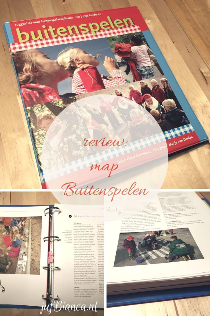 review- map Buitenspelen - suggesties voor buitenspelactiviteiten - JufBianca.nl