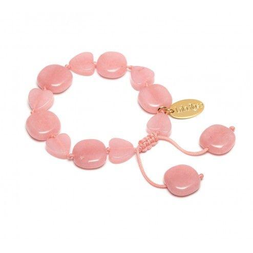 Lola Rose Julianna Pink Grace Quartzite Bracelet at aquaruby.com