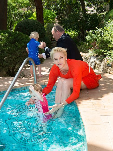 618 best prinzessin charlene prinz albert images on for Garden pool party 2015