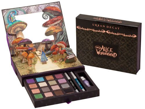 Urban Decay's Alice In Wonderland Book of Shadows. Love this sooo much, i wanted one so bad but it was limited edition and was kind of expensive. i even tried to win it from some youtube people...but nothing worked :(