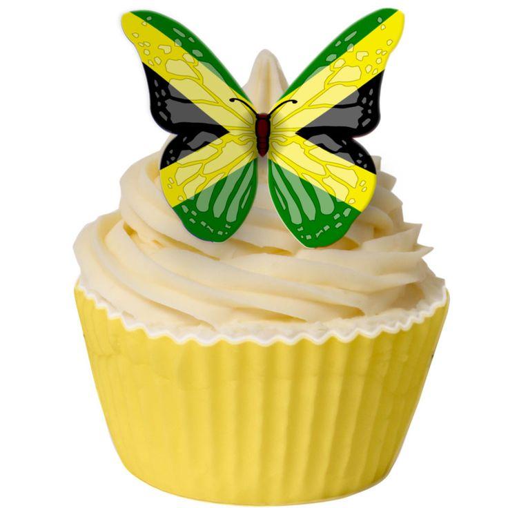 Jamaican Cupcake Cake Topper Food Cake Decorating