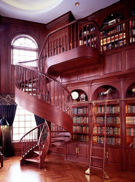 Dramatic Stairways Design Ideas, Pictures, Remodel, and Decor