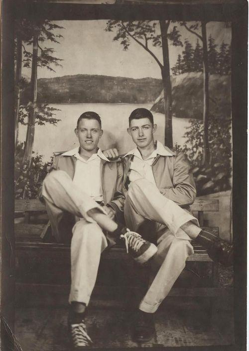52 Best Vintage Male Couples Images On Pinterest