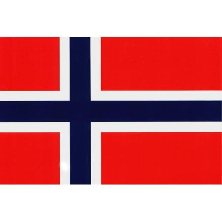 Norway Flag Vinyl Sticker