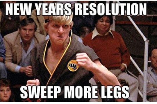 Martial arts humor