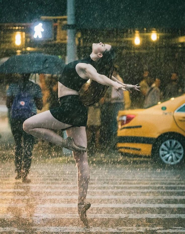 Beautiful Ballet Dancers Portraits in New York City Streets