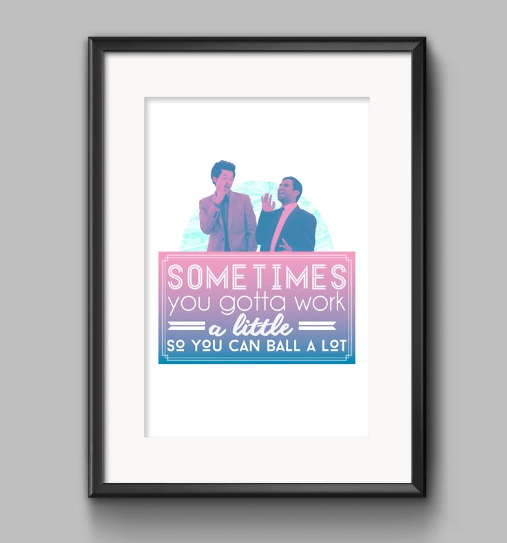 Tom Haverford Quote Poster by Shaileyann on Etsy https://www.etsy.com/listing/456840110/tom-haverford-quote-poster