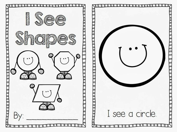 FREE shapes emergent reader https://www.facebook.com/flyingintofirstgrade