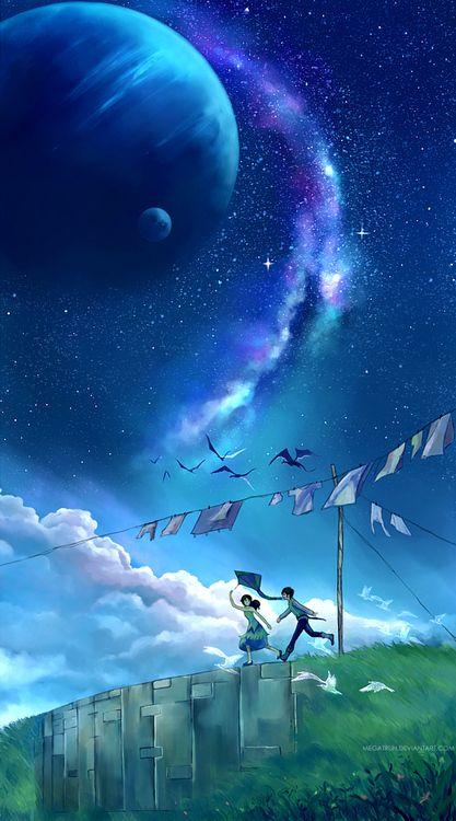 ~Nuestra amistad no depende de cosas como el espacio y el tiempo.~