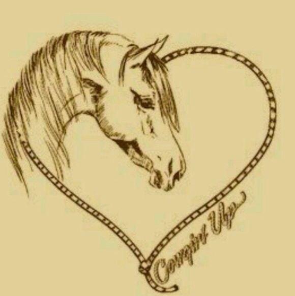 Cool horse tattoo idea