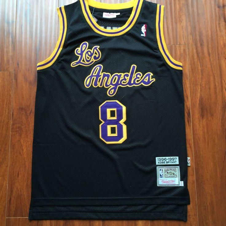 Men 8 Kobe Bryant Jersey Black Christmas Los Angeles Lakers ...