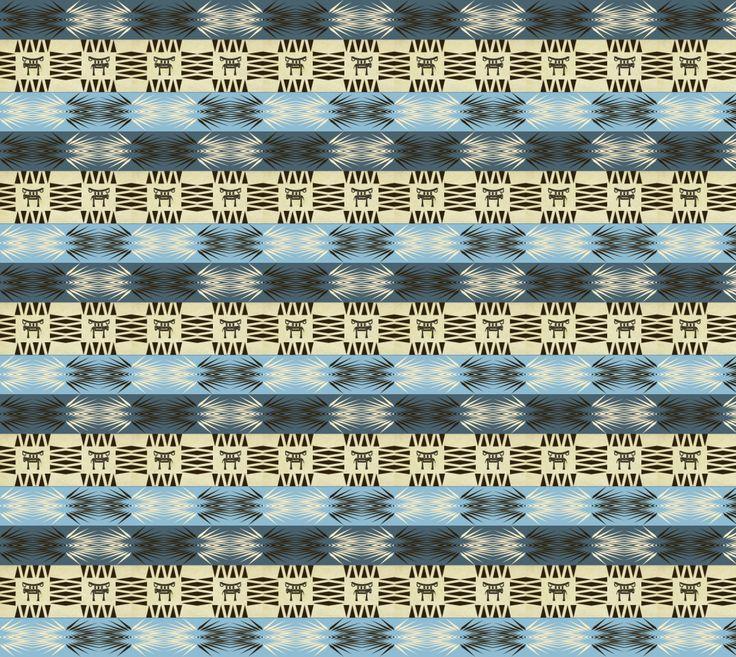 "Fabric+""ethnic+african+tribal+seamless+pattern""+by+Stellagala #artofwthere #desidn #fabric"