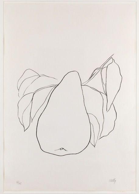 Ellsworth Kelly, Pear III, 1966