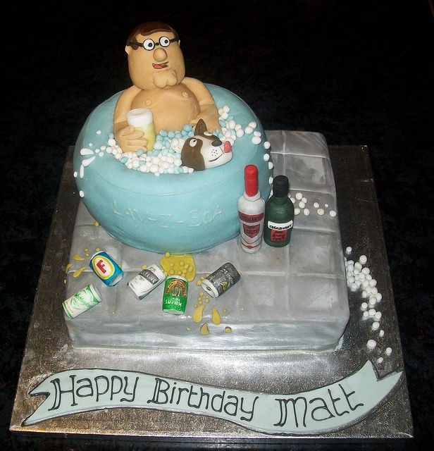 Another Funny Hot Tub Cake!